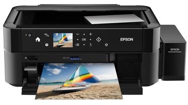 Multifunktsionaalne printer Epson L850, tindiga, värviline