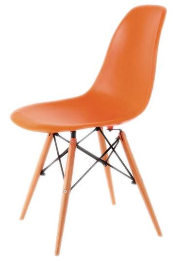 Стул для столовой Signal Meble Enzo Orange, 1 шт.