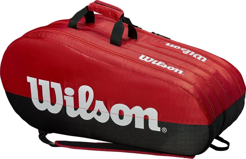 Wilson Team 3 Compartment Bag Black/Red