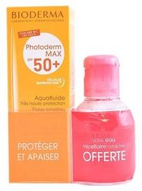 Bioderma Photoderm Max Aquafluid SPF50+ 40ml + 100ml Crealine H2O Micellar Water