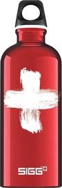 Sigg Water Bottle Swiss Red 600ml