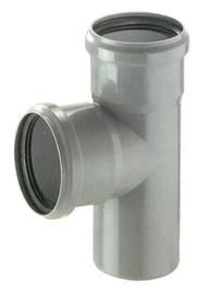 Magnaplast 3-Way Connector Pipe Grey 90° 110mm