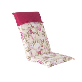 Home4you Florida Rose Chair Cover 48x115x6cm Flowers
