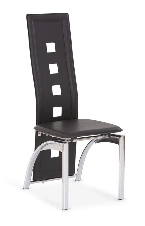 Svetainės kėdė K4, juoda