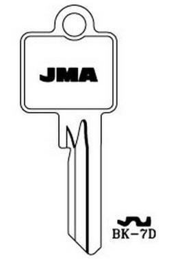 Raktų ruošinys Jma BK-7D, 1 vnt.
