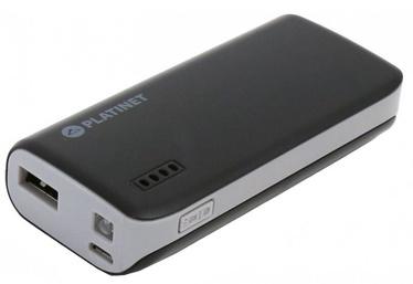 Зарядное устройство - аккумулятор Platinet, 4400 мАч, черный/серый