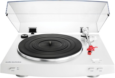 Audio-Technica AT-LP3WH Fully Automatic Belt-Drive Stereo Turntable White