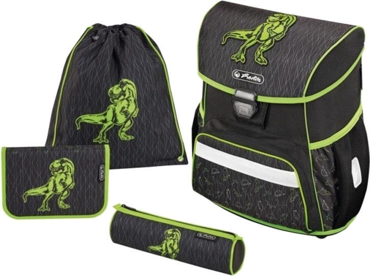 Kuprinė Herlitz Loop Plus Green Dino 128064