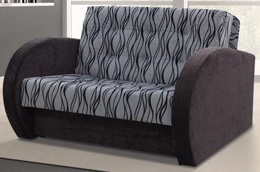 Диван-кровать Idzczak Meble Sylwia IV M06176 Grey/Black, 133 x 110 x 90 см