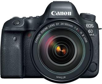 Canon EOS 6D Mark II + EF 24-105mm f/4L IS II USM (pažeista pakuotė)