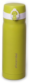 Kamille Vacuum Flask 450ml Green KM2005A