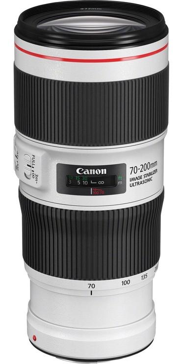Canon EF 70-200mm f/4L IS II USM Lens White