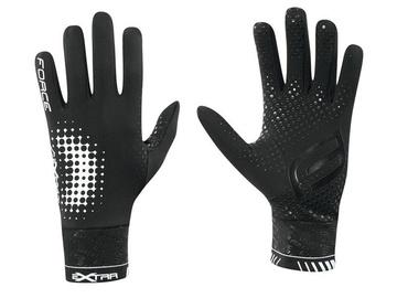 Force Extra Full Gloves Black XL