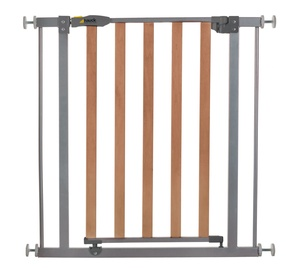 Hauck Wood Lock Safety Gate Silver