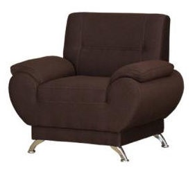 Kanclers Livonia Armchair Fabric Dark Brown