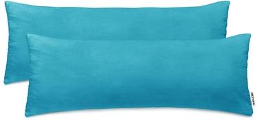 DecoKing Amber Pillowcase 40x120 Marine 2pcs