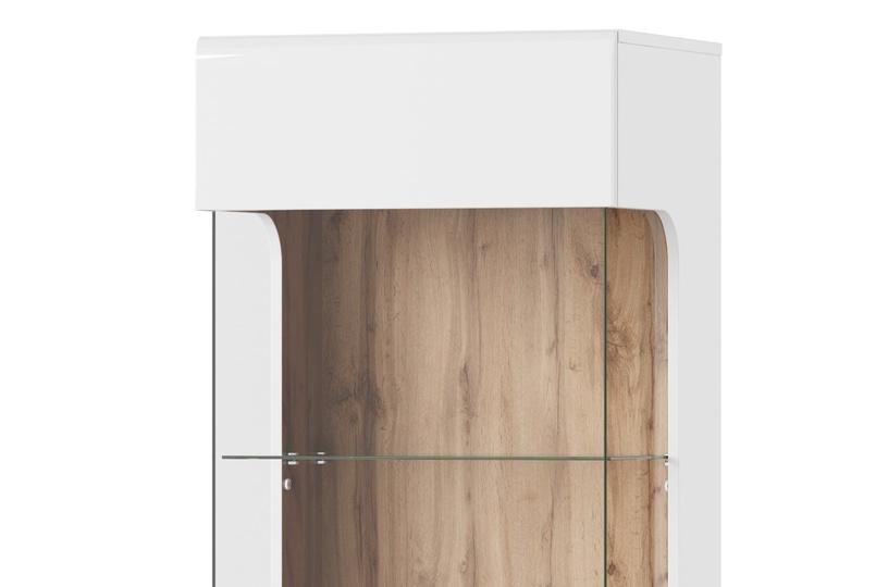 Vitrininė spintelė Wood, 52 x 200 x 40 cm