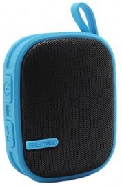 Belaidė kolonėlė Remax RB-X2 Bluetooth 3.0 Rubbered Portable Speaker Blue