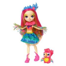 Lėlė Enchantimals, herojė papūgėlė su gyvunėliu FJJ21