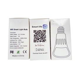 Viedā spuldze XS-SLD02 LED, E27, G40, 7 W, 600 lm, balta