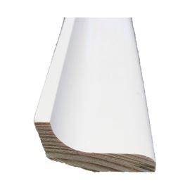 Grindjuostė, balta, 22 x 40 x 2700 mm