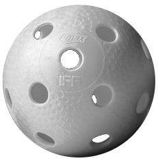 Q-max Floorball Ball Star White