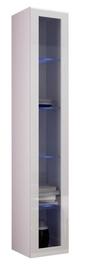 Cama Meble Vigo 180 Glass Case White/White Gloss