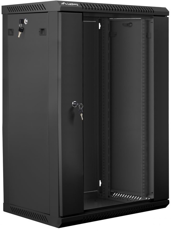Lanberg WF01-6418-10B 18U Wall Mount Cabinet