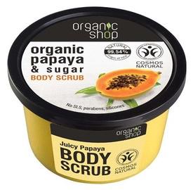 Скраб для тела Organic Shop Juicy Papaya, 250 мл