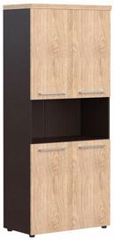 Skyland Office Cabinet AHC 85.4 Oak Devon/Wenge