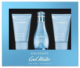 Davidoff Cool Water 30ml EDT + 50ml Shower Gel + 50ml Body Lotion 2019
