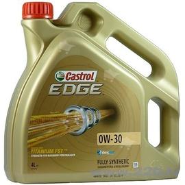 Машинное масло Castrol Edge Titanium 0W - 20, синтетический, для легкового автомобиля, 4 л
