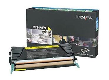 Lexmark X748H1YG Toner Cartridge Yellow