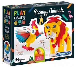 Clementoni Play Creative Spongy Animals