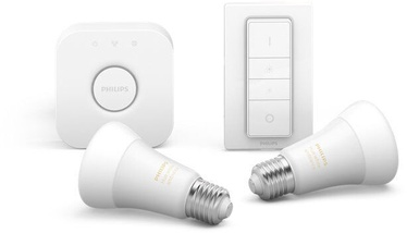 Philips Hue Bulbs x2 + Bridge + Switch