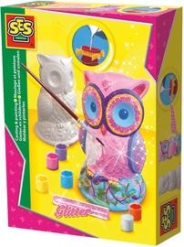 Gipsinių figūrų gaminimo rinkinys SES Creative Casting And Painting Owl 01285