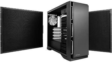 Antec P101 Silent Midi-Tower Black