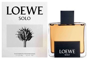Tualetes ūdens Loewe Solo 125ml EDT White