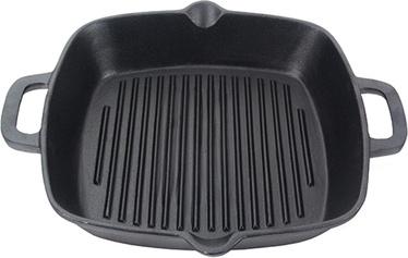 Fissman Grill Pan Cast Iron 26x5cm Square 4097