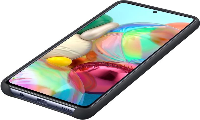 Nugarėlė silikoninė Samsung A71 Black