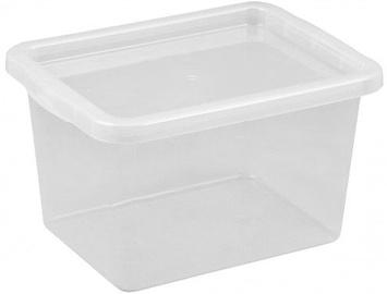 Plast Team Basic Box with Lid 380x216x285mm