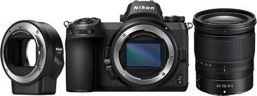 Süsteemne fotoaparaat Nikon Z6 + 24-70mm f4 + FTZ Adapter Kit