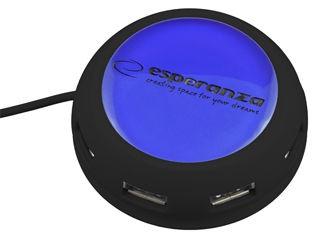 Esperanza Hub 4 Porty EA135B USB 2.0 Yoyo