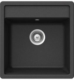 Teka Menorca 50 S-TG Sink Metallic Black Onyx