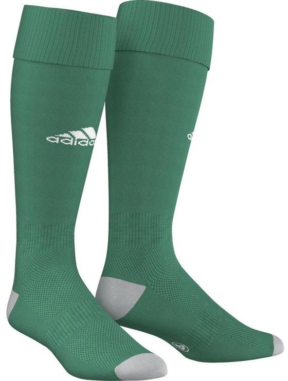 Носки Adidas, белый/зеленый, 40