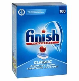 Trauku mazgājamās mašīnas kapsulas Finish Classic Regular, 100 gab.
