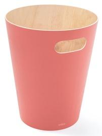 Мусорное ведро Umbra Woodrow, розовый, 7.5 л