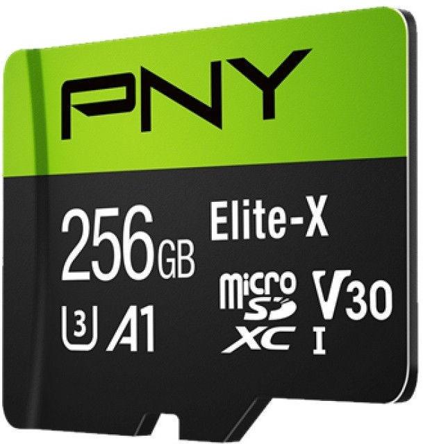 PNY Elite-X microSDXC 256GB UHS-I Class 10 U3