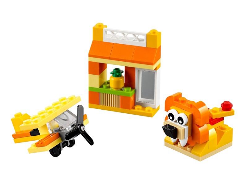 Конструктор LEGO Classic Orange Creativity Box 10709 10709, 60 шт.