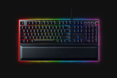 Игровая клавиатура Razer HUNTSMAN ELITE Razer Purple EN